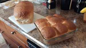 Coconut Oil and Honey bread and buns
